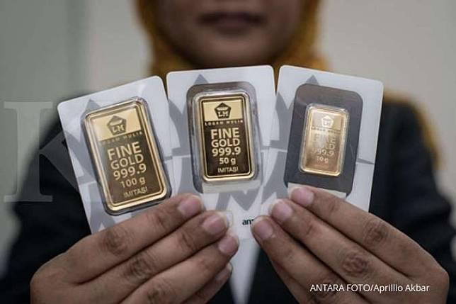 Harga emas 24 karat Antam hari ini naik Rp 7.000, Selasa ...