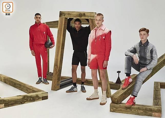 今次品牌邀請莫斯科藝術家及時裝設計師Gosha Rubchinskiy推出GR-UNIFORMA聯名膠囊系列,帶來展現俄羅斯潮流風格的服飾。(互聯網)