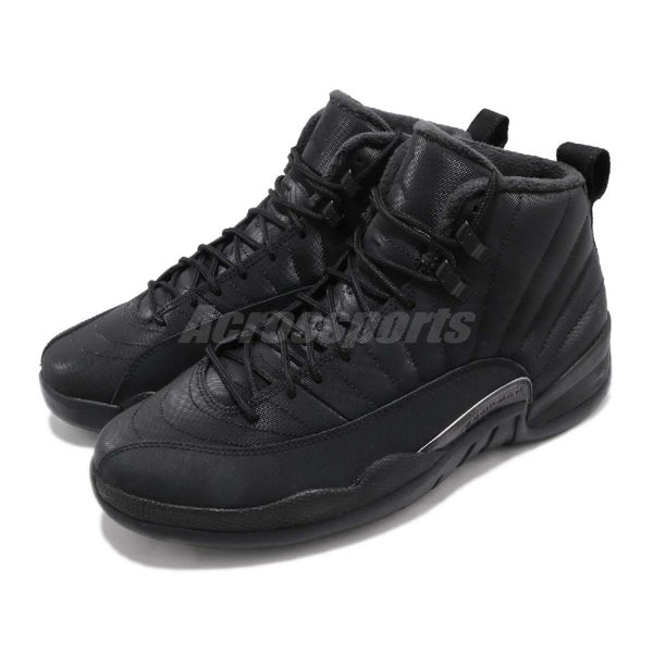 Nike Air Jordan 12 Retro WNTR Winterized 黑 全黑 XII 喬丹 12代 男鞋 運動鞋【PUMP306】 BQ6851-001