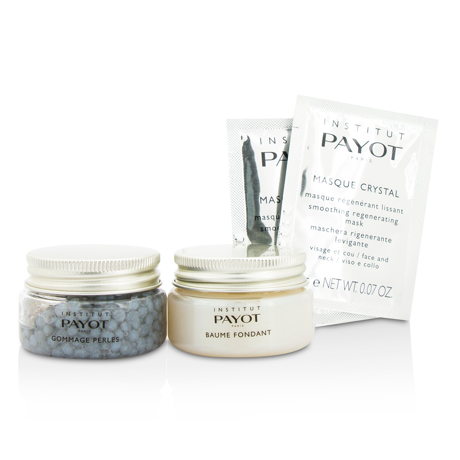 Payot 柏姿 頂級體驗套裝: 臉部磨砂+面霜+面膜 Supreme Experience Set: Gommage Perles + Baume Fondant + Masque Crystal