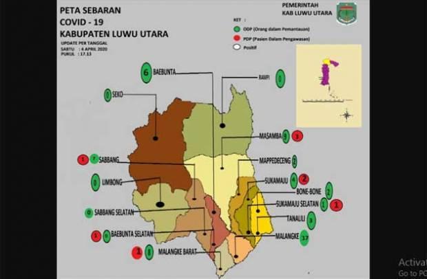 Ini Sebaran Odp Dan Pdp Covid 19 Di Kabupaten Luwu Utara Sindonews Line Today