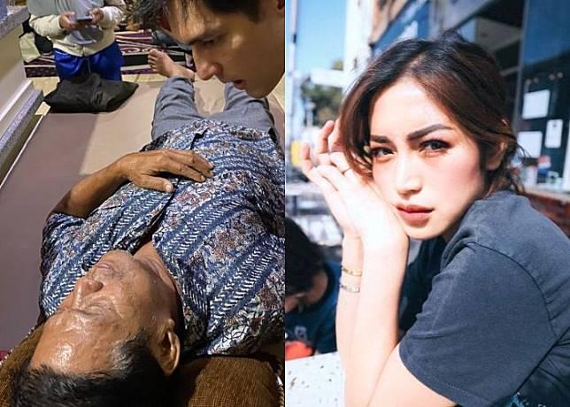 Jessica Iskandar akan fokus pada kesembuhan sang ayah.*