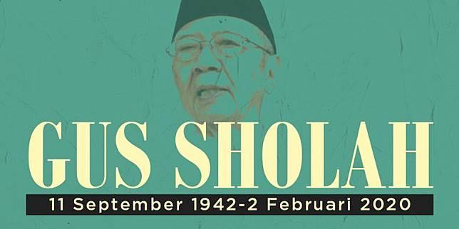 Infografik Mengenang Gus Sholah
