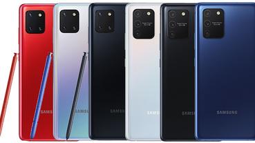 Samsung Galaxy S10 Lite 與 Note10 Lite 正式發表,擁有旗艦功能更容易