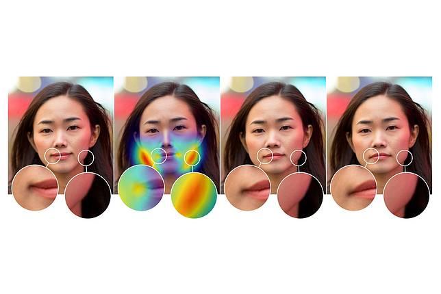 ▲ Adobe 與加州大學伯克利分校團隊合作研發,以人工智慧找出人像後製痕跡。(圖/翻攝自 Adobe 部落格)