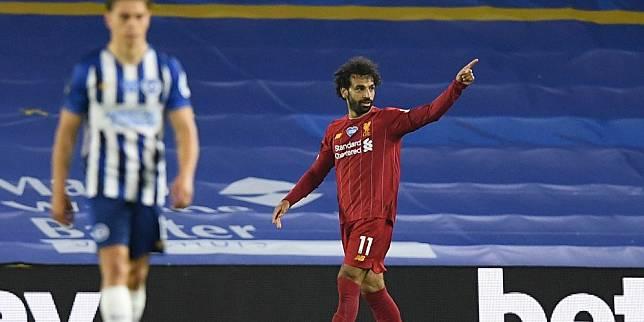 Bintang Liverpool, Mohamed Salah (c) AP Photo