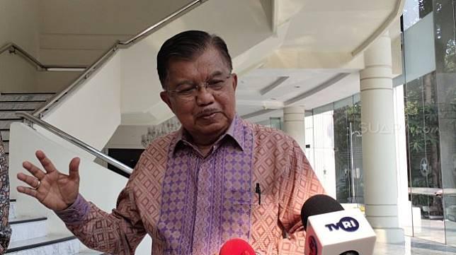 Wakil Presiden Jusuf Kalla (JK). (Suara.com/Ria Rizki)