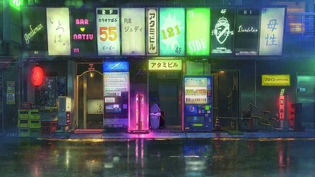 電影中曾出現的歌舞伎町風貌背景圖。(互聯網)