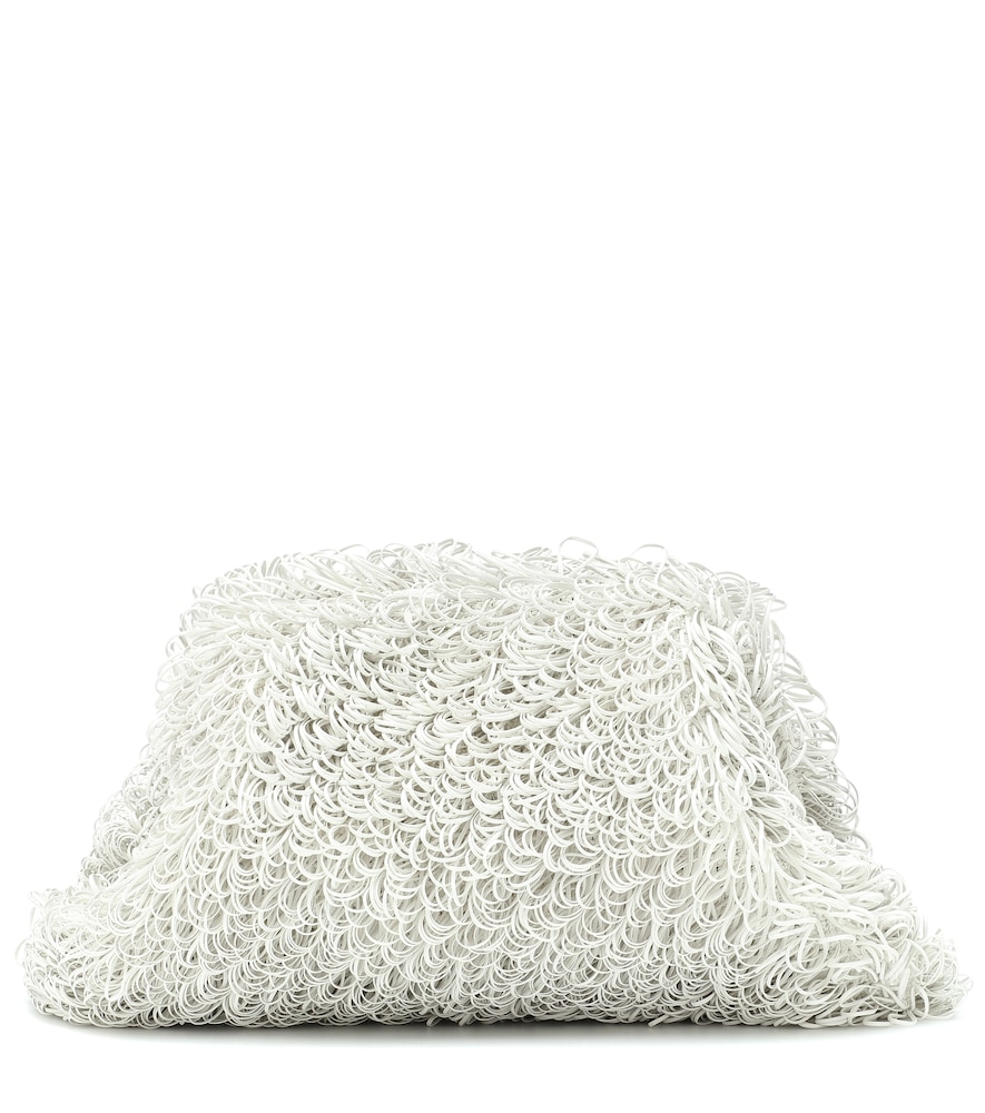 The Sponge clutch from Bottega Veneta elevates the now-iconic Pouch design to higher fashion planes.