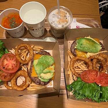 実際訪問したユーザーが直接撮影して投稿した新宿ハンバーガークア・アイナ ルミネエスト新宿店の写真