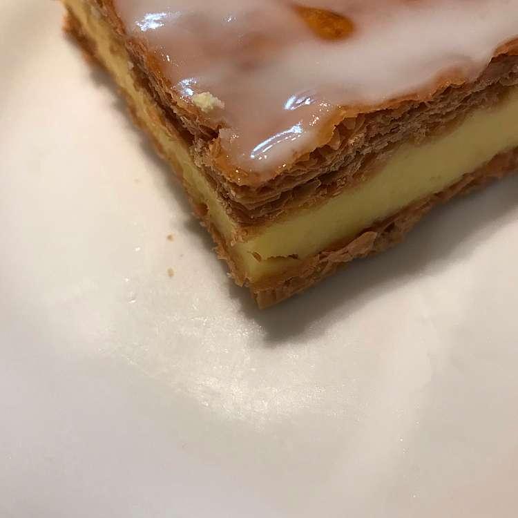 ユーザーが投稿したケーキセットの写真 - 実際訪問したユーザーが直接撮影して投稿した西新宿ベーカリーPAUL 京王新宿店の写真