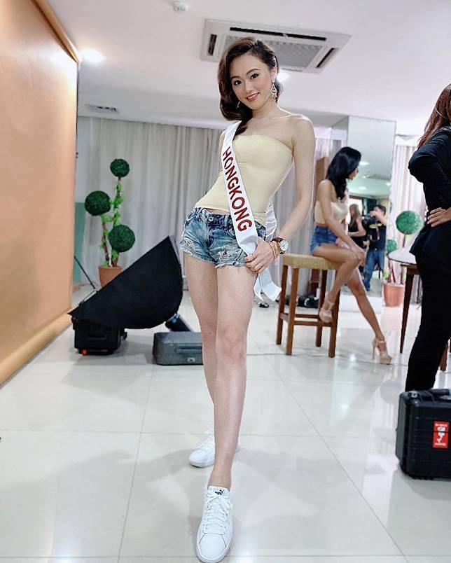 馮熙淳今年喺《2019亞洲太平洋國際小姐總決賽(香港區)》奪冠。