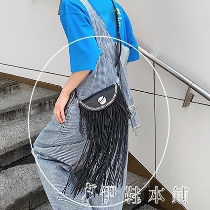 新款腰包女百搭時尚女包包網紅mona同款流蘇包單肩斜背包