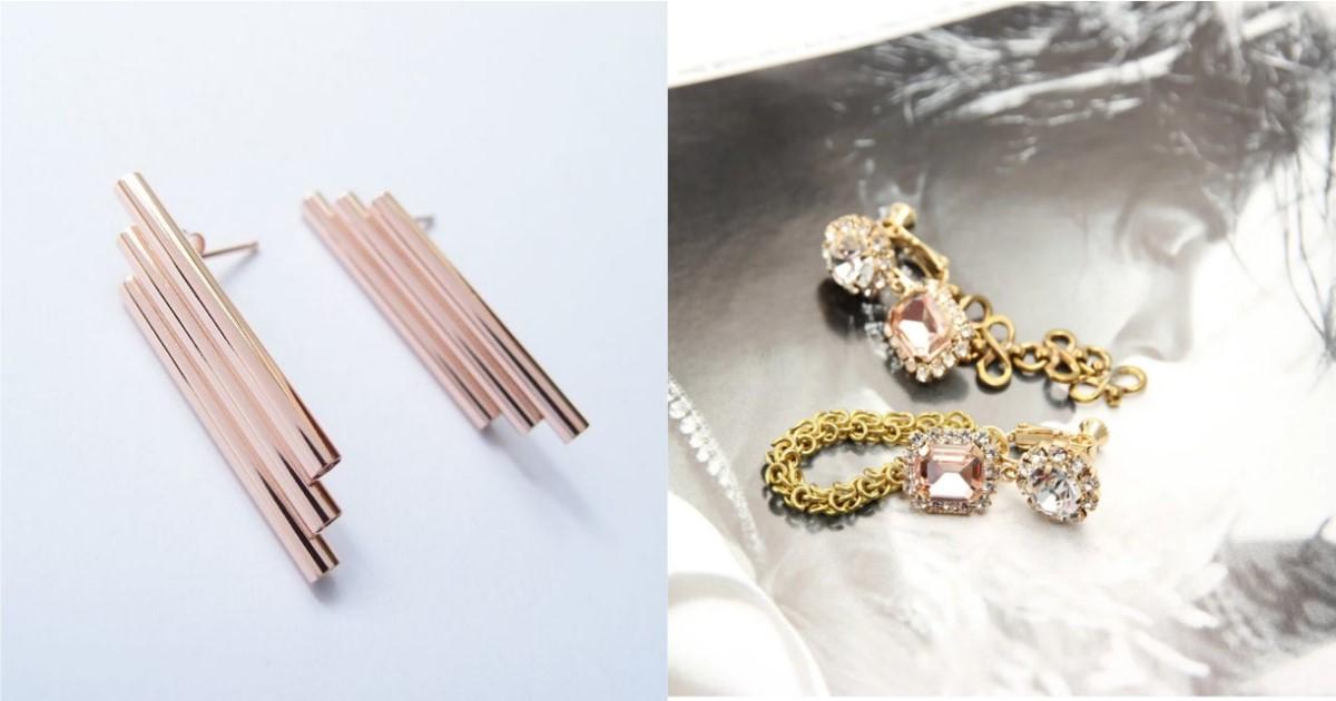 提升注目的時髦優雅度!就以 3 款造型耳環打造大人感浪漫印象