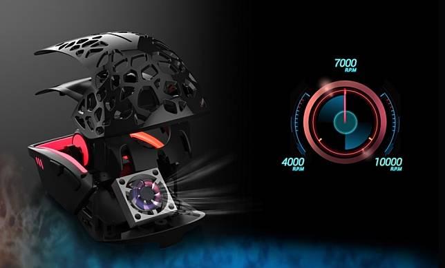 หมดปัญหามือแฉะ ! เปิดตัว Zephyr Gaming Mouse เมาส์ RGB พร้อมพัดลมเป่ามือ ที่สามารถเป่าเร็วถึง 10,000 RPM