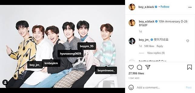 Postingan Donghyun BOYFRIEND