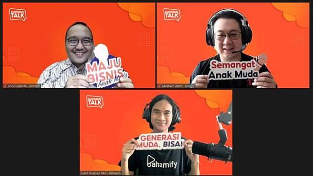 ShopeePay Talk 21 Mei 2021. foto; dok. ShopeePay