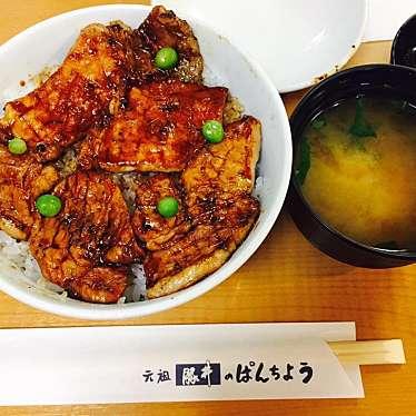 実際訪問したユーザーが直接撮影して投稿した東1条南丼もの元祖 豚丼のぱんちょうの写真