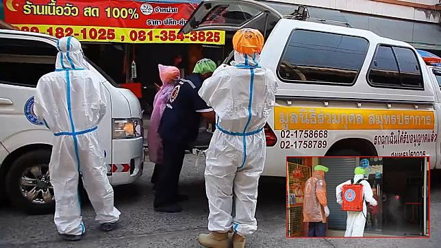หนุ่มไอร่วมเดือนก่อนเสียชีวิตคาดว่าน่าจะติดเชื้อไวรัส มรณะเจ้าหน้าที่สวมชุด PPE เข้าเก็บศพ