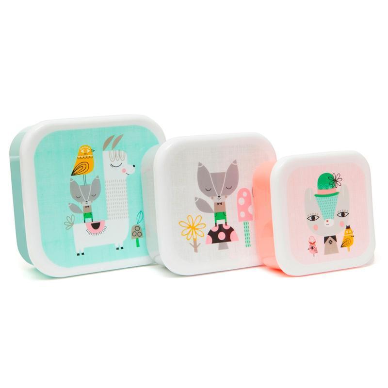 零食盒3入組-草尼馬與好朋友