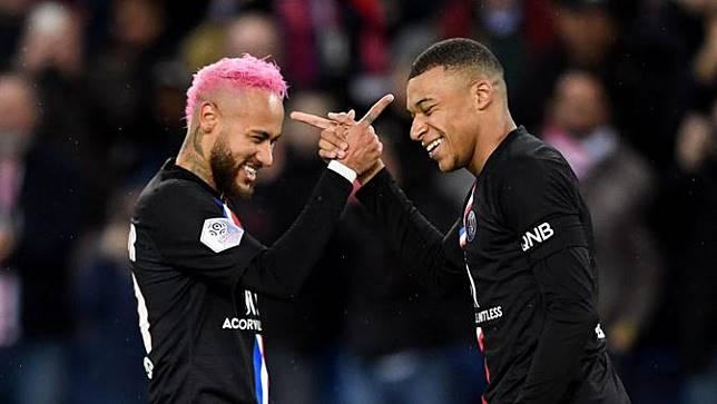 Kylian Mbappe dan Neymar Berulah Pelatih PSG Pening