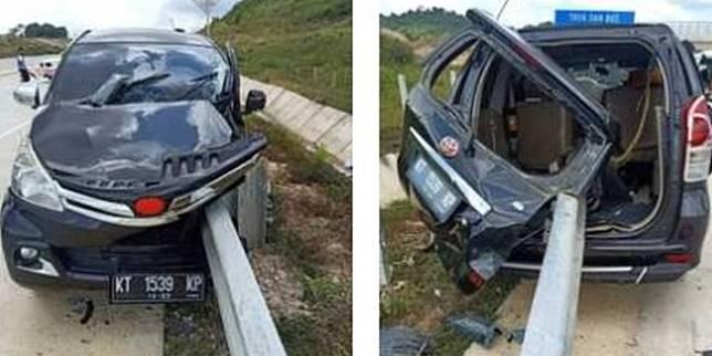Kecelakaan maut Toyota Avanza (Merdeka.com)