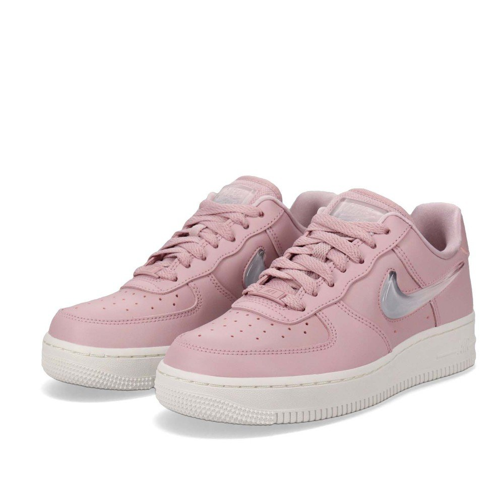 NIKE 休閒鞋 Air Force 1 07 SE 女鞋 經典款 AF1 球鞋 穿搭 小粉鞋 粉 白 [AH6827-500]