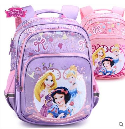 正版 迪士尼公主系列 減負書包女童小學生幼兒園兒童雙肩背包