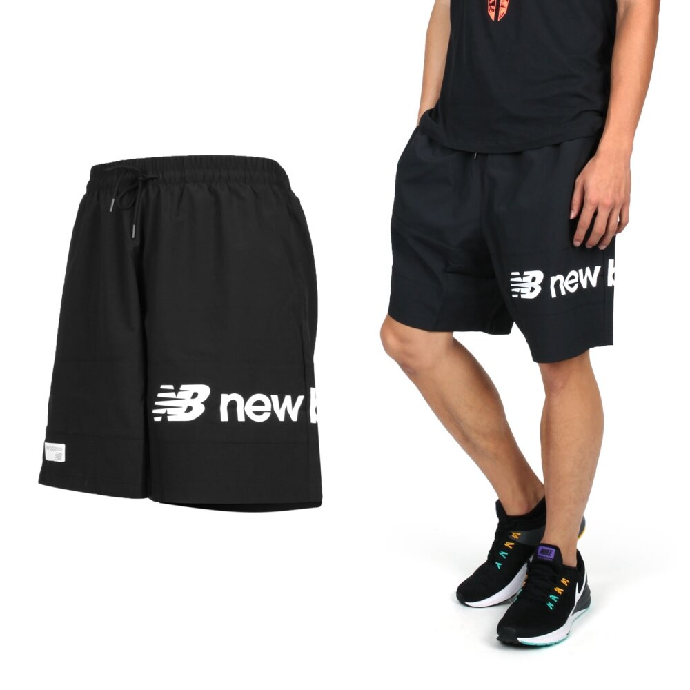 NEW BALANCE 男運動短褲(慢跑 路跑 平織 NB【04351626】≡排汗專家≡