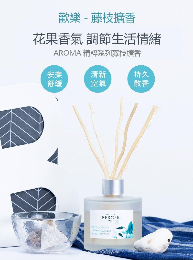 嚴選**法國122年薰香品牌,法國專業香水調劑師研發。