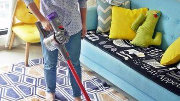 [生活] 輕鬆居家打掃神器,吸塵器推薦:「Dyson V8 Slim Fluffy+無線手持吸塵器」讓做家事變輕鬆