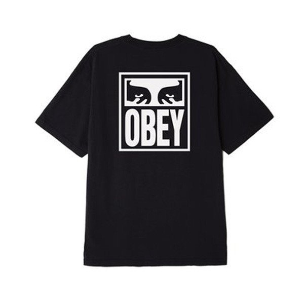 Obey Eyes Icon T恤 (黑)《Jet Sunny Store》
