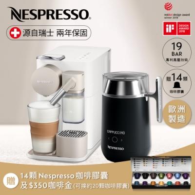 輕鬆打造你的咖啡館 一鍵式操作系統,嶄新牛奶功能 咖啡機:19bar高壓義式經典 Barista:13款內建食譜 加入品牌會員享2年保固