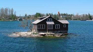 世界祕境好吃驚,金氏世界紀錄上最小的有人島