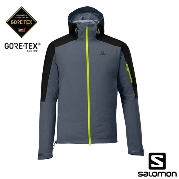 三層GTX ACTIVE 防水布料n3D 可調整雨帽n防水拉鍊設計