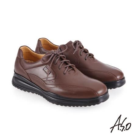 油感牛皮表層含有天然油脂,呈現皮料光澤感,不需刻意使用鞋油保養 全能超氣墊優越的性能,提供 3倍反彈、2倍吸震