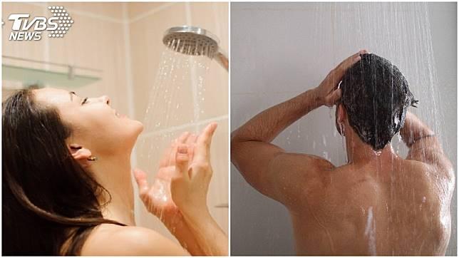 有些人一天沒洗澡就會感到渾身不自在,甚至一天會洗好幾次澡。(示意圖/TVBS)