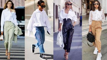 白襯衫穿搭Top 6推薦! LV、Dior、Celine...百搭單品就是它