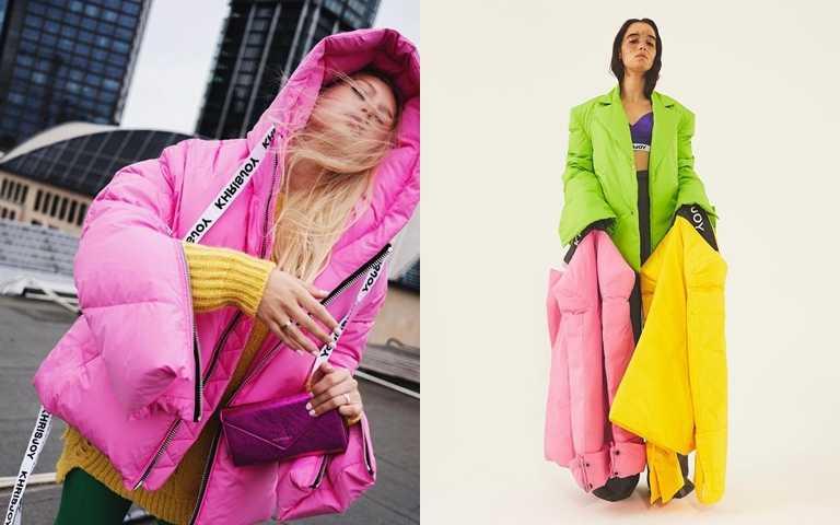 繽紛色系、西裝剪裁羽絨服都是街頭搶眼單品!(圖/品牌提供)