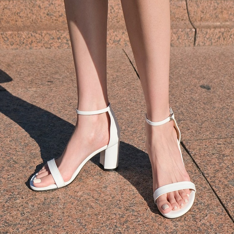 [SAPPUN官方旗艦店]Shammer瑪麗珍高跟涼鞋(1.5cm / 4cm / 7cm)