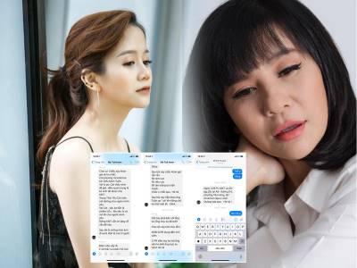 Bị An Nguy tố dàn dựng scandal, Cát Phương bật khóc khẳng định tin nhắn là giả mạo
