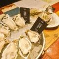 牡蠣食べ放題 - 実際訪問したユーザーが直接撮影して投稿した新宿オイスターバーガンボ&オイスターバー 新宿ルミネエスト店の写真のメニュー情報