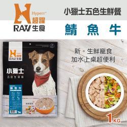 HyperrRAW超躍 小獵士五色生鮮餐 鯖魚牛口味 1公斤(500G*2 替代出貨)