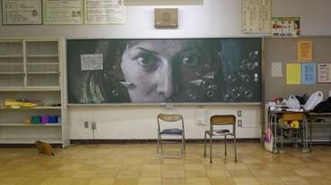 我畫我畫我畫畫畫 黑板塗鴉再度入侵各大校園!