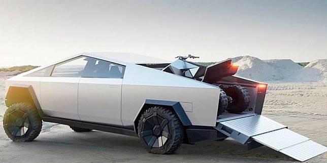 Tesla Cybertruck (Topspeed)