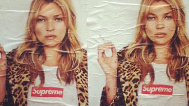 超級名模Kate Moss登上Supreme 2012春季宣傳海報