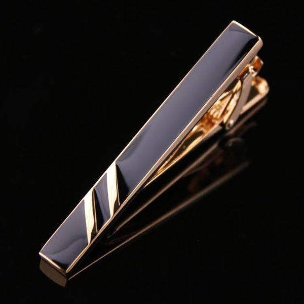 領帶夾 男裝領帶夾男士簡約銀色金屬商務禮品盒裝時尚配飾職業男別針