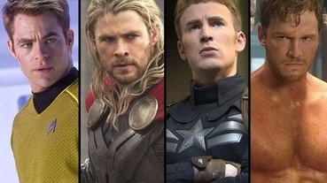 好萊塢天菜「克里斯」點點名 哪位「克里斯」英雄才是女孩們心中的最愛?