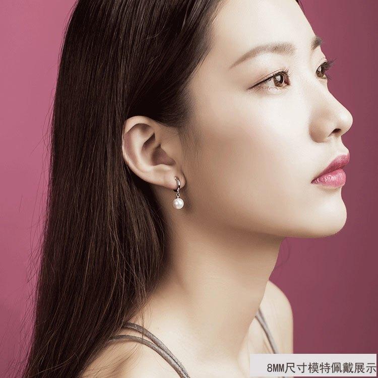 耳夾925純銀無痛螺旋耳夾無耳洞法式質感耳飾無洞耳環
