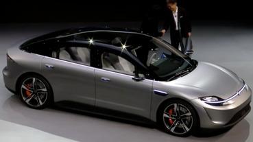 科技滿載的 SONY Vision S 概念四輪電動車登場